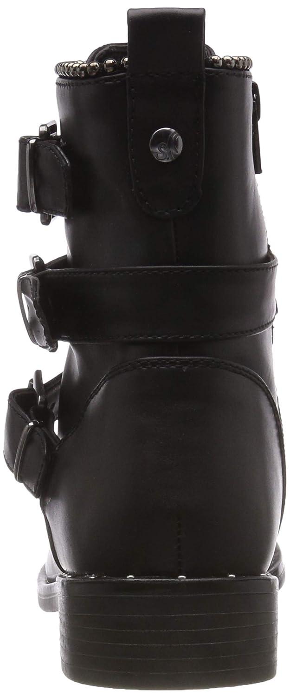 S.Oliver Damen Stiefel, 25365-31 Biker Stiefel, Damen Schwarz (schwarz 1) d9d4cd