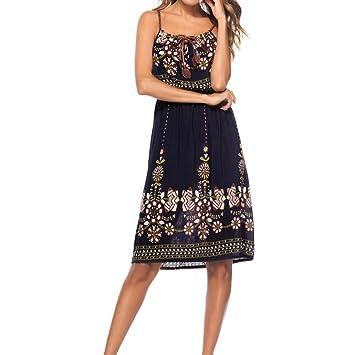 Vestido de mujer, talla única, diseño delgado, vestido de media impresión sexy con