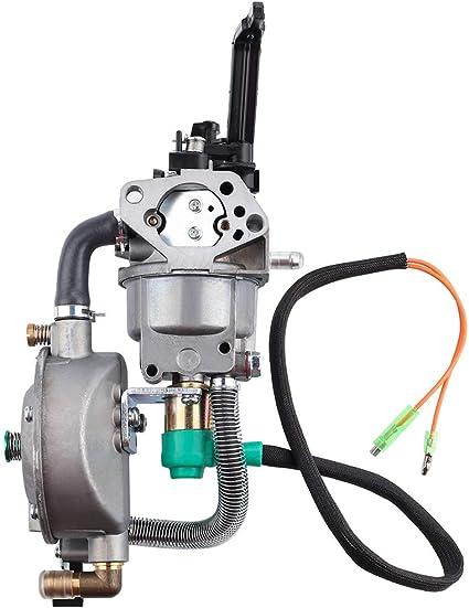 For Honda GX390 Dual Fuel Carburetor LPG Conversion 188F 4.5-5.5KW 13-14HP