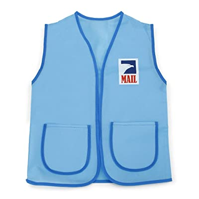 Darice Dress Up Vest - Postal Carrier - 16 x 20 inches: Toys & Games