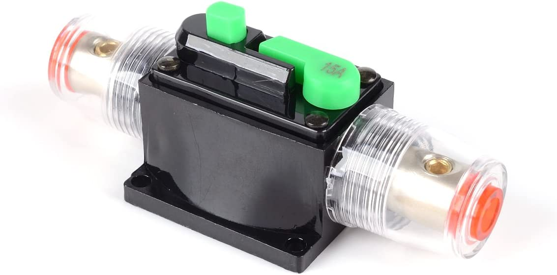 150 AMP Circuit Breaker Stereo Inline Replace Reset Fuse Fits Car Audio Marine