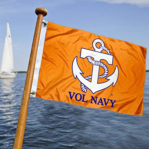 Tennessee Vols Vol azul marino Golf barco bandera de Mini: Amazon ...