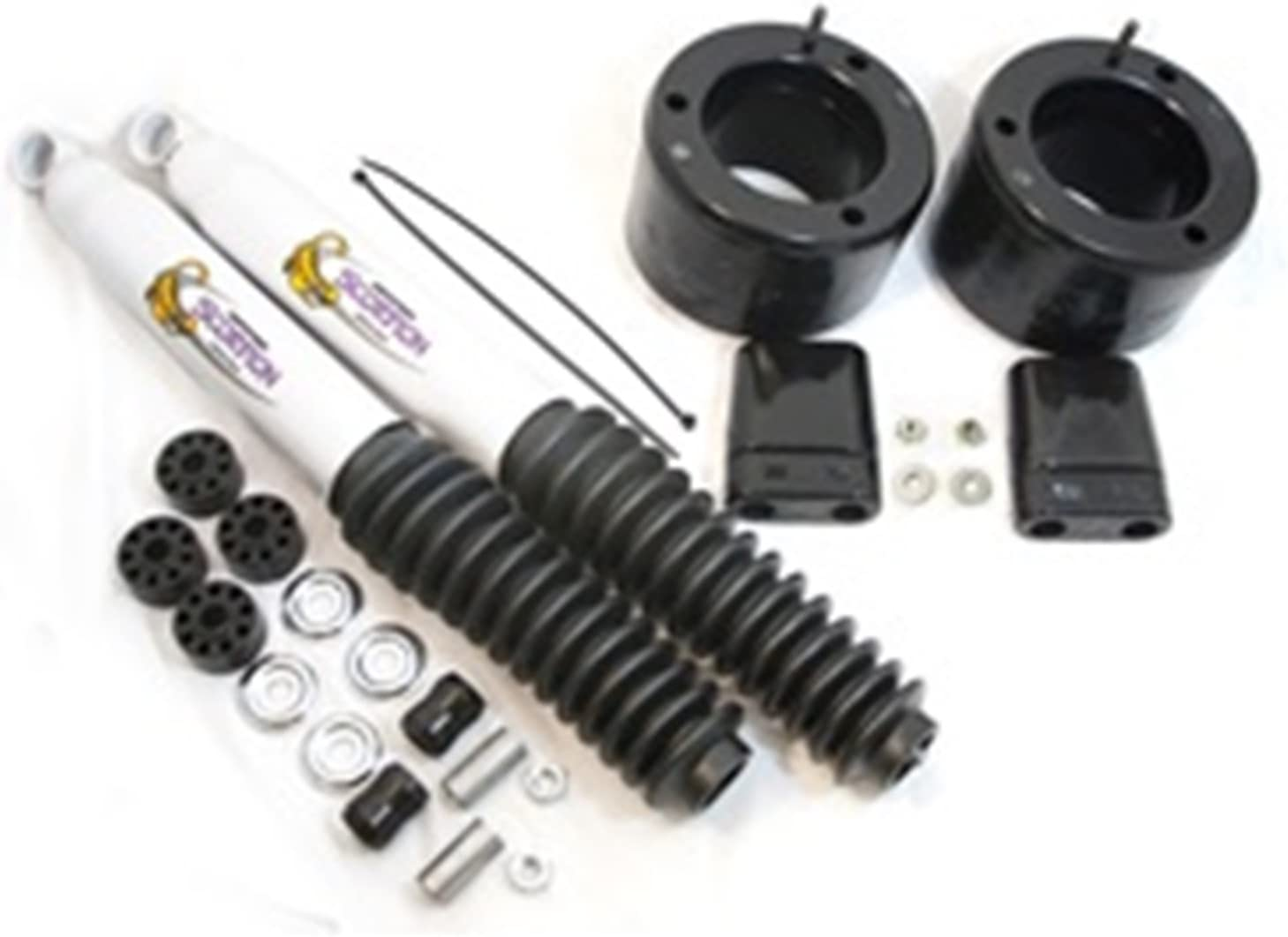 Made in America Daystar all cabs KC09137BK with bump stops and front shocks all transmissions fits production date of May 2013 to 2017 2WD Dodge RAM 2500//3500 2 Leveling Kit