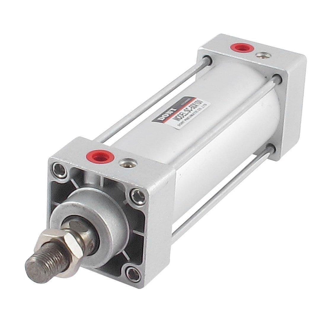 Sourcingmap® KSC50x 10050millimetri Alesaggio 100millimetri corsa a doppia azione cilindro dell' aria a12051400ux0174