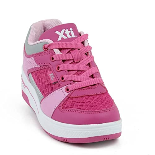XTI Zapato de Niña Kid Plano Deportivo/A Fucsia: Amazon.es: Zapatos y complementos