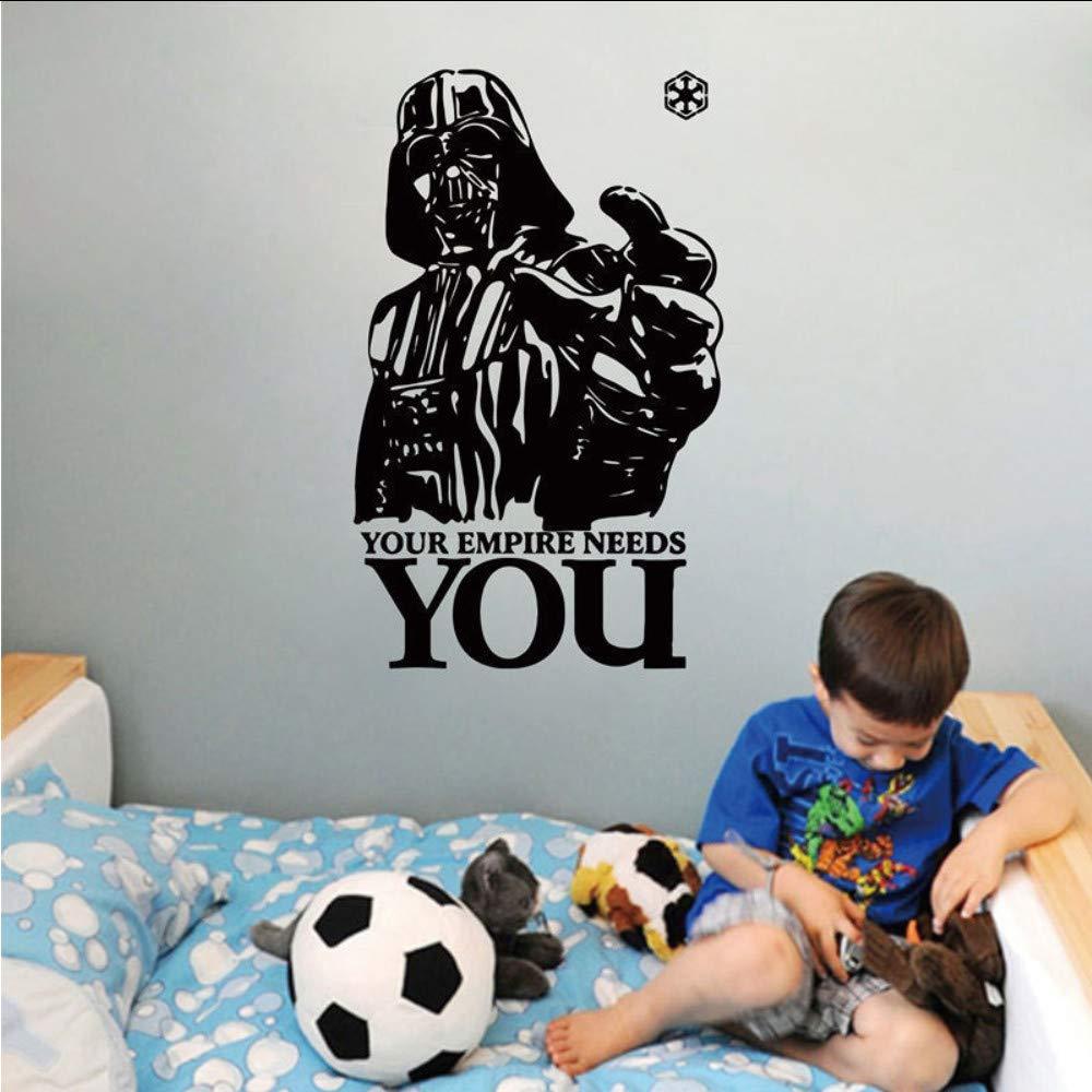 Tzxdbh Star Wars Adhesivos De Pared Tu Imperio Te Necesita
