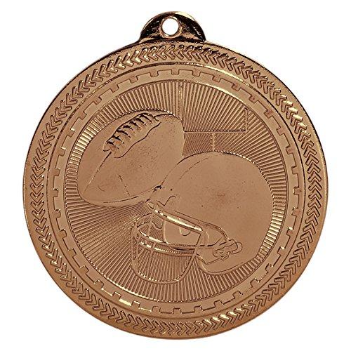 Medal Footbal Trophys Trophies (Trophy Cruch Football Medal Medal and Ribbon in Bulk Treasure Series)