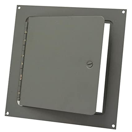 Amazon.com: 8 In. x 8 en. Metal pared o techo Puerta de ...