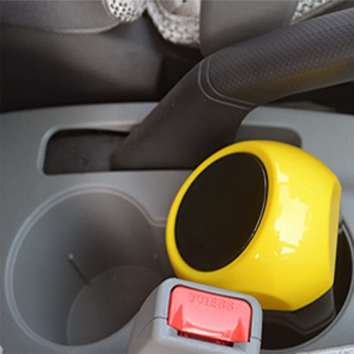 Kitchen Home Car Auto Garbage Trash Can Automotive Waste Storage Red Use for Auto Car Living Room Office Yolu Car Garbage Can