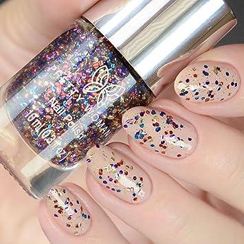 Amazon.com : Pretty Woman Splatter Collection Nail Polish 10ml (0.3 ...
