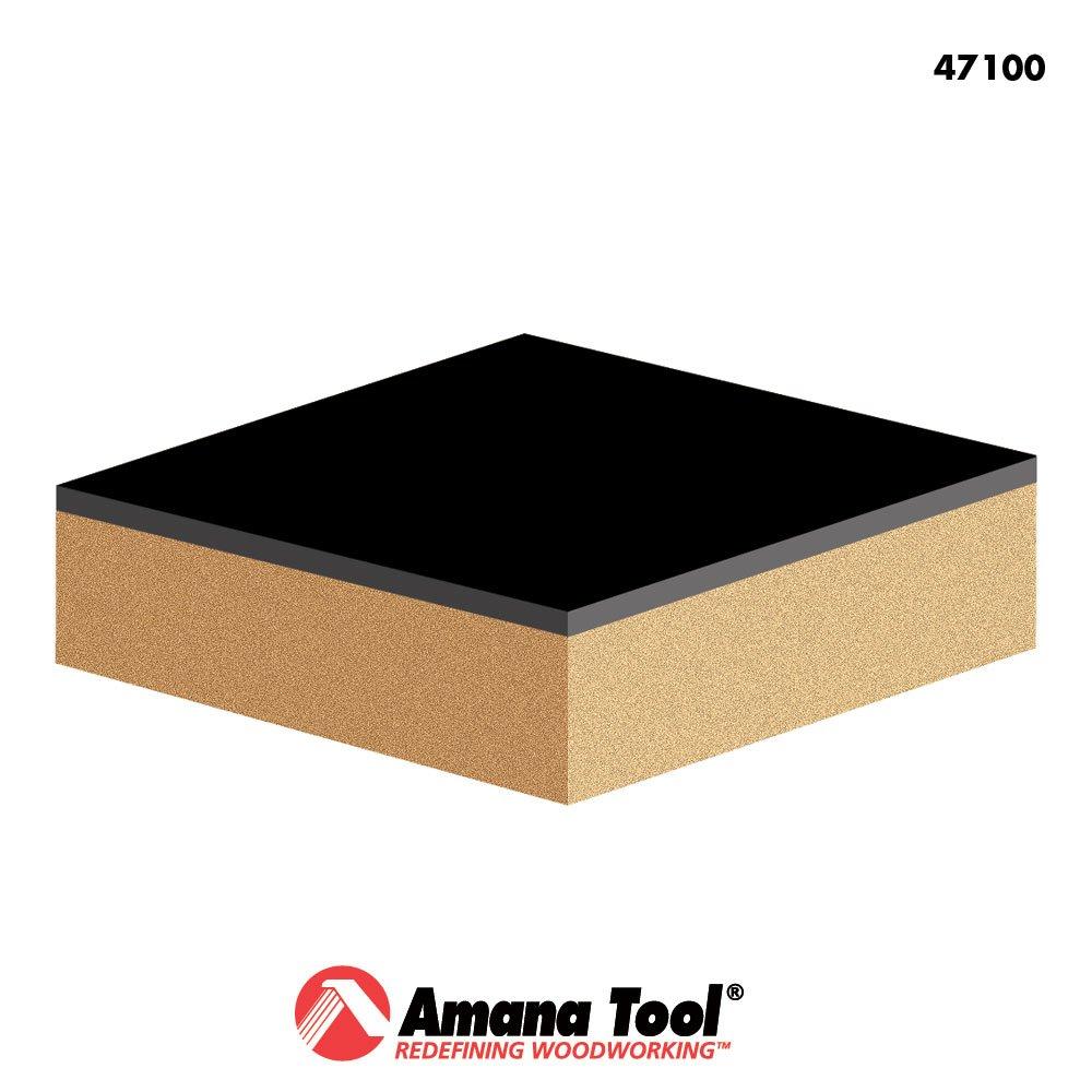Amana Tool 47100 Carbide Tipped Flush Trim 3//8 Dia x 1 4 Shank