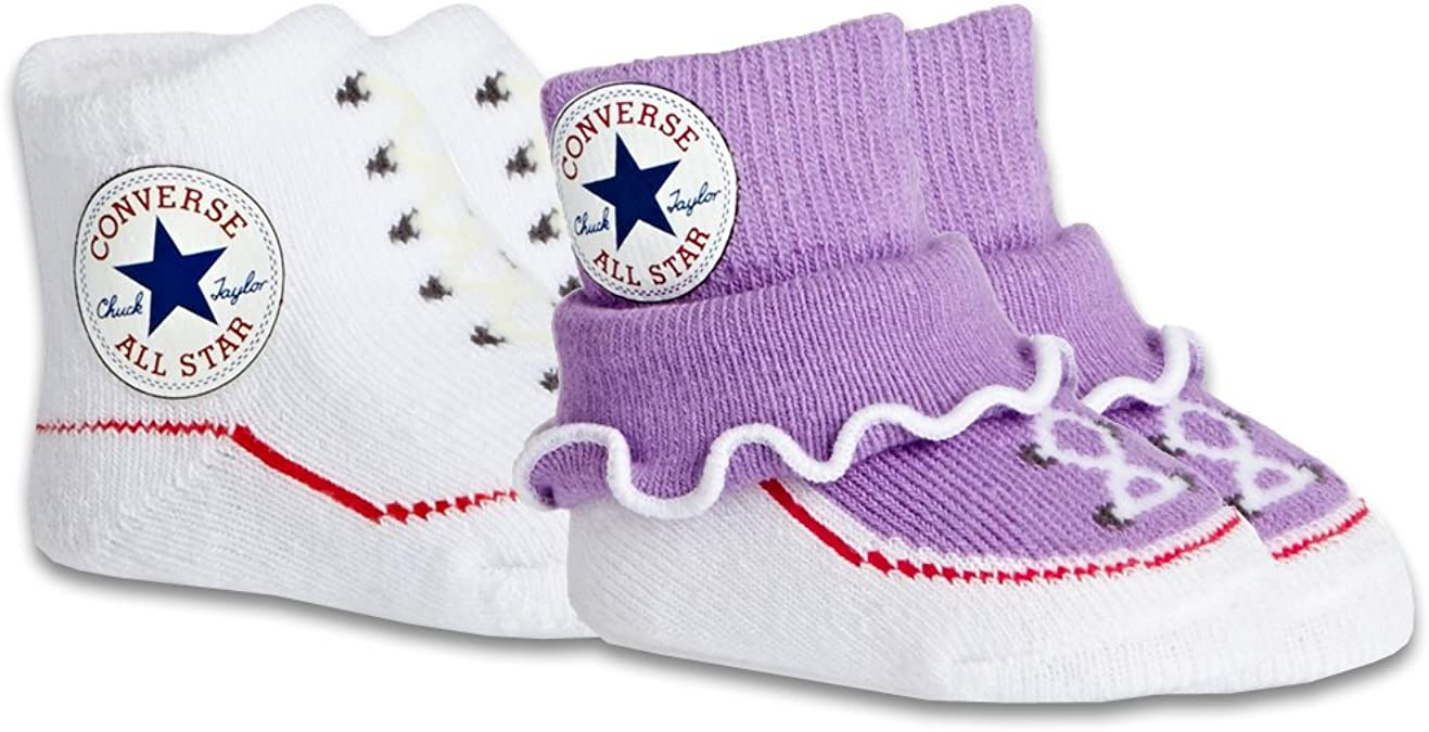 Converse Frozen Lilac baby girls frilly