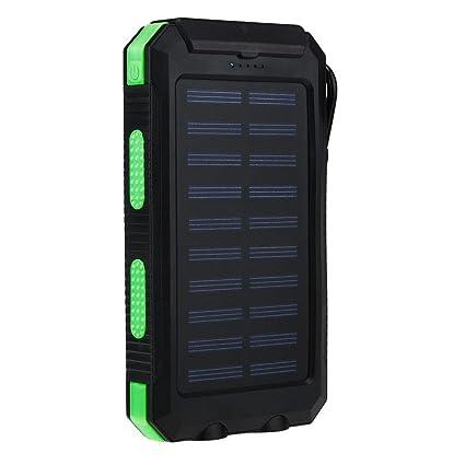 Cargador solar portátil impermeable de 20000 mAh para iPhone ...