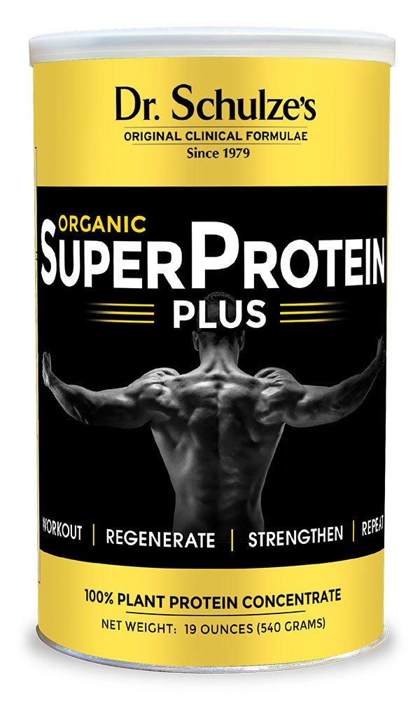 Dr. Schulze's SuperProtein Plus Spirulina Protein Powder (19 oz.)