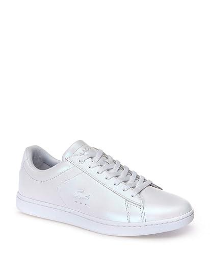 Lacoste Mujeres Calzado/Zapatillas de Deporte Carnaby EVO 318 5 SPW: Amazon.es: Zapatos y complementos