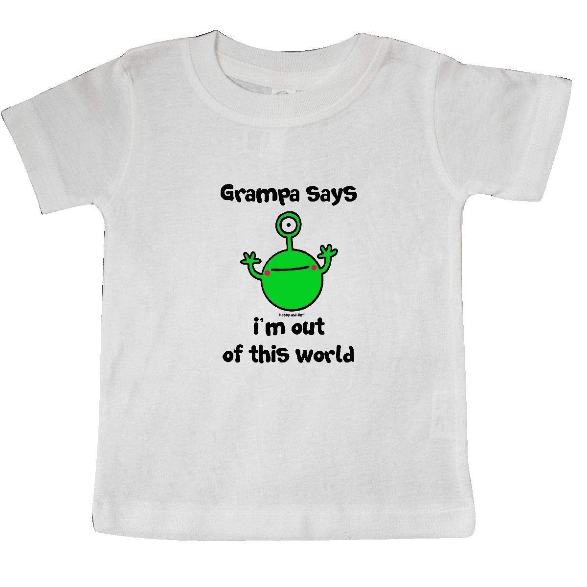 inktastic Grampa Flossy and Jim Out of This World Baby T-Shirt