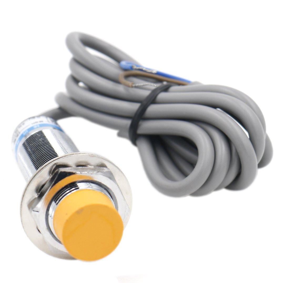 Heschen, rivelatore del sensore di prossimità induttivo LJ18A3–8-Z/EX, rilevatore 8mm, 6–36VDC, 100mA normalmente aperto, 2fili Heschen Electric Co.Ltd HS-LJ18A3-8-Z/EX