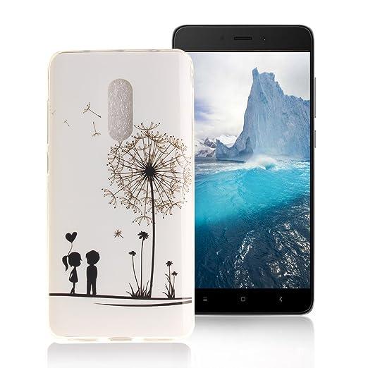 3 opinioni per AllDo Custodia in Silicone per XiaoMi RedMi Note 4 Cover Gomma TPU Custodia