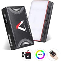 Aputure MC Aputure Amaran AL-MC RGB Led Video Light TLCI/CRI 96+ RGB 0-360 Full Color 3200-6500K Adjustable 0-100% Stepless Dimming CCT/HSI/FX Mode Built-in Lighting Effect App Control Wireless Charge