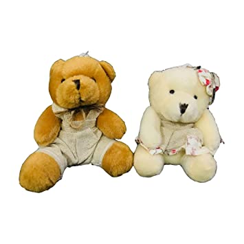 Buy Rianz Lovely Couple Soft Teddy Keychain 2 In 1 For Boy And Girl