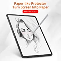Elikliv Paper-Like Anti Glare Matte PET Screen Protector Cover 9.7inch for iPad2/iPad3/iPad4