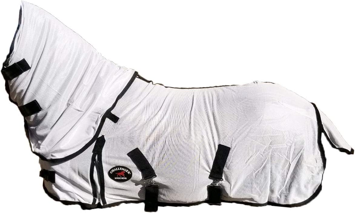Miniature Weanling Donkey Pony Horse Foal Fly Sheet White 51809