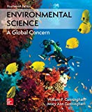 Book cover from Environmental Science by William P Cunningham Prof.
