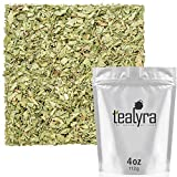 Tealyra - Pure Lemon Verbena - Herbal Loose Leaf Tea - Hot or Iced - Relaxation - Calming - Digestive - Caffeine Free - All Natural - 112g (4-ounce)