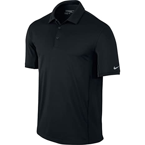 4b8da116c Amazon.com: Nike Golf Men's Tech Ultra Polo- Black/Wolf Grey (Small ...