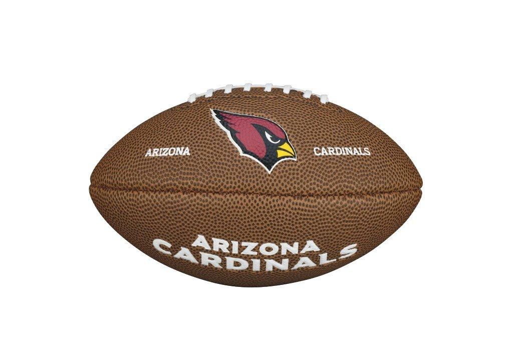 Wilson F1533XB NFL Team Logo Mini Arizona Cardinals WTF1533IDAZ