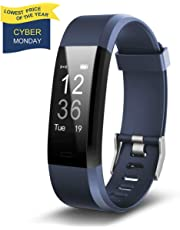 【Clearance Sale】Fitness Tracker HolyHigh YG3 Plus Heart Rate Monitor Activity Tracker Waterproof/Pedometer/Call Message Alert/Sleep Monitor/Calorie/ for Android and iOS