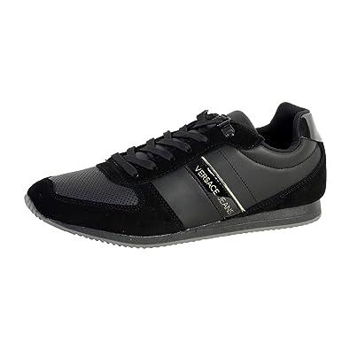Jeans E0ysbsa170753899 Running Coated Fondo Suede Linea Dis1 Versace qdCw0q