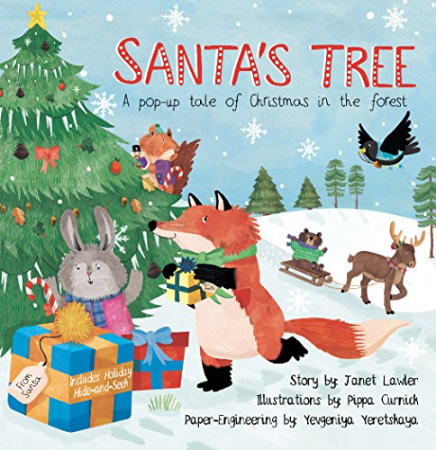 Santa Christmas Tree Forest - Santa's Tree: A pop-up tale of Christmas in the forest
