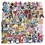 Cat Fan related Products Jasion Stickers 200-Pcs PVC Mixed Decals Waterproof Anti-Sunlight DIY Ideals for Water Bottles Cars Motorbikes Portable…