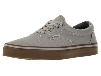Vans Unisex Shoes Era Canvas Drizzle/Gum Sneakers (3.5 Men's /5 Women's)