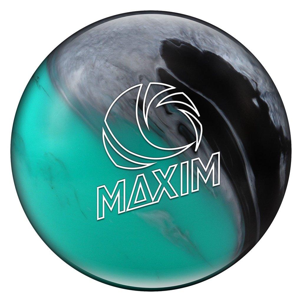Ebonite Maxim Seafoam Bowling Ball Maxim Seafoam Bowling Ball, Teal/Black/Silver, 7 lb