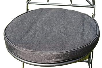 Cojín para muebles de jardín - Cojín redondo para silla ...