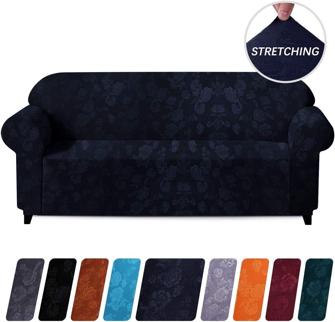 Anti Slip Stretch Fit Couch Sofa Cover Lounge Recliner Chair Slipcover Elastic