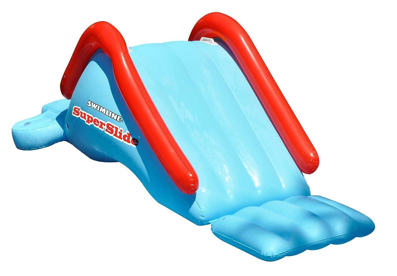 Amazon.com: Tobogán de agua, inflable para piscina de ...