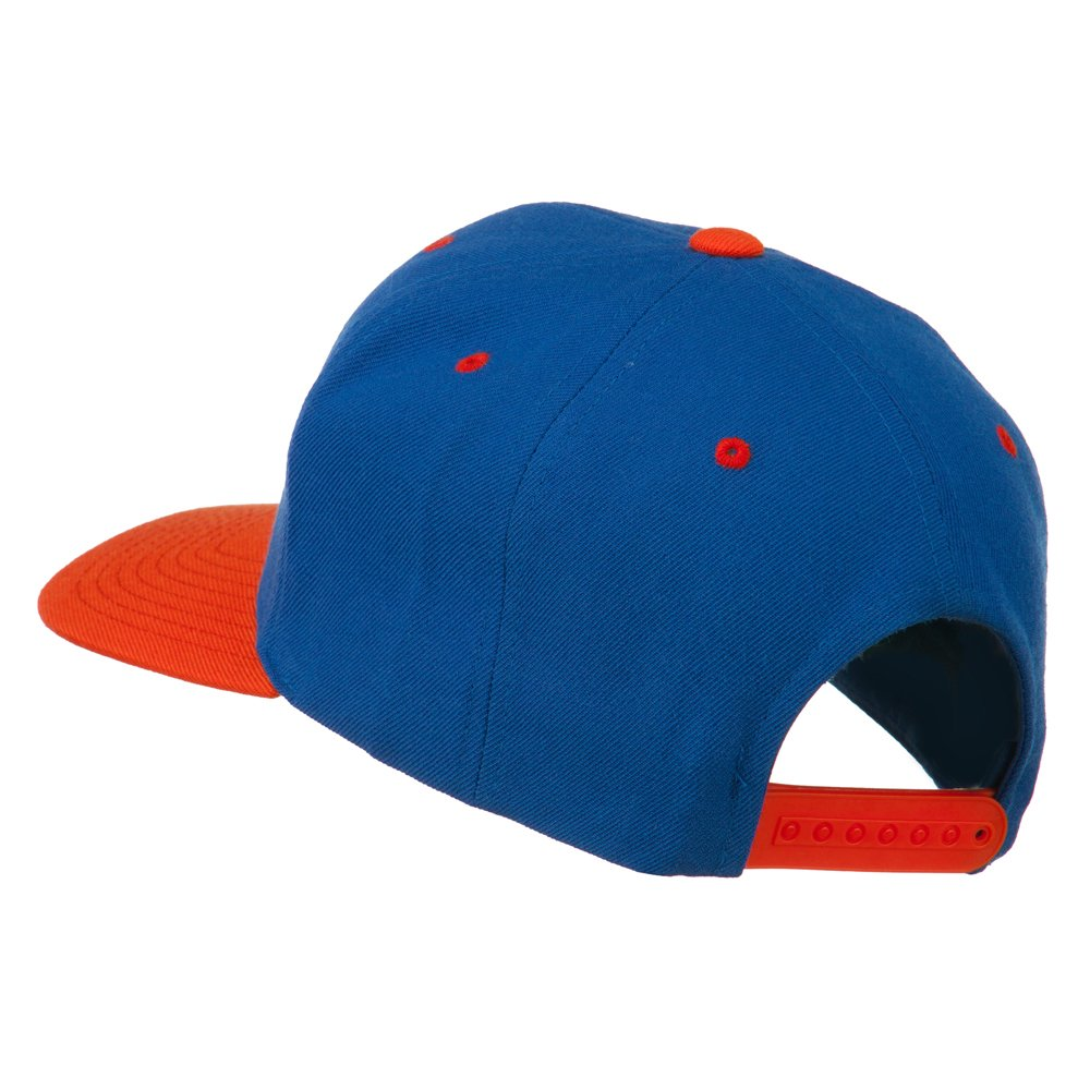 e4Hats.com Smiley Face Embroidered Two Tone Cap