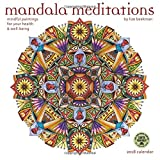 img - for Mandala Meditations 2018 Wall Calendar: Mindful Paintings for Your Health and Well-Being book / textbook / text book
