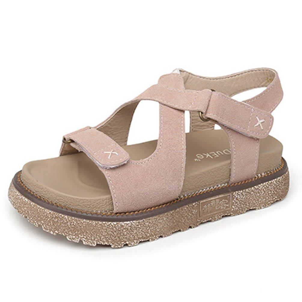 Chaussures Beige Chaussures Sandales Femmes Talon à Bout Ouvert Sandales Plateforme Talon Antidérapantes 34-43 Beige f2f6721 - reprogrammed.space