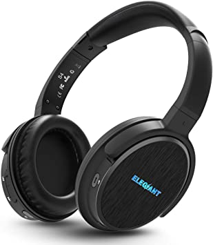 ELEGIANT Auriculares Bluetooth Diadema, Cascos Inalámbricos con Micrófono Multifunción Manos Libres Estéreo Sonido de 16 Horas de Uso Compatible para Android iPhone XS MAX XS X Galaxy Huawei: Amazon.es: Electrónica