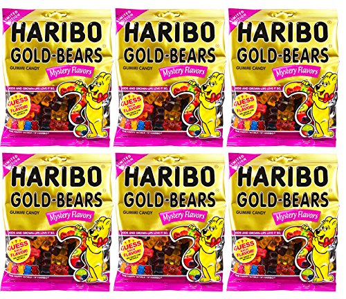 Haribo Gold-Bears Mystery Flavors Gummy Bears Candy Limited