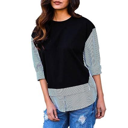 Mujer Blusa Bohemian estampado moda verano y otoño estilo urbano streetwear noche,Sonnena Camisa de