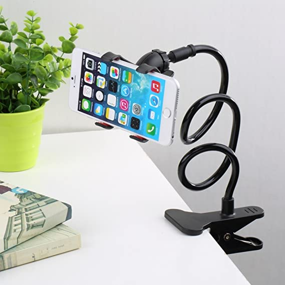 Mic Stand Home Electronic Accessories 2019 New Style Universal Lazy Bed Desktop Car Stand Mount Long Arm Holder For Cell Phone 360 Degree Car Mobile Phone Cell Phone Holders