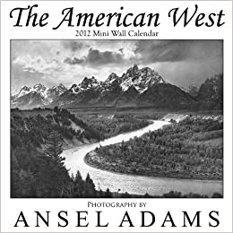 ansel adams 2012 engagement calendar