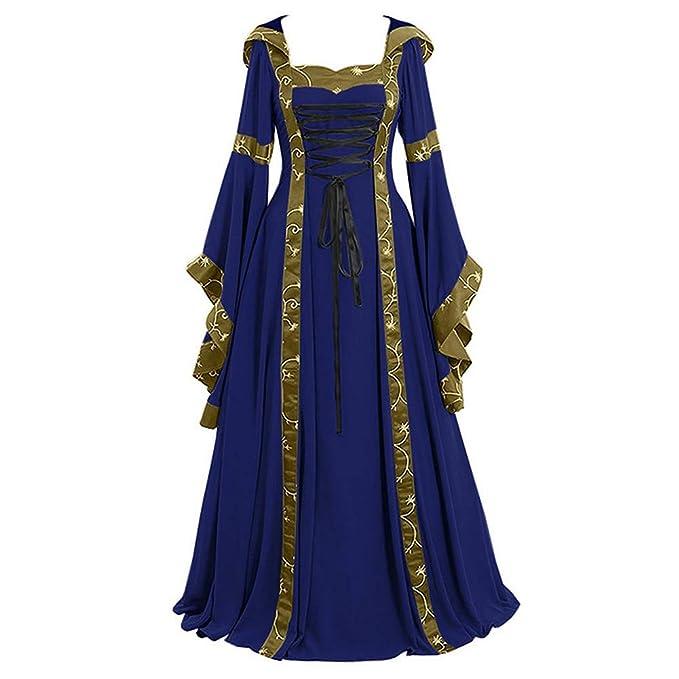 Lover-Beauty Vestido Victoriano Mujer Vestido Largo Victoria ...