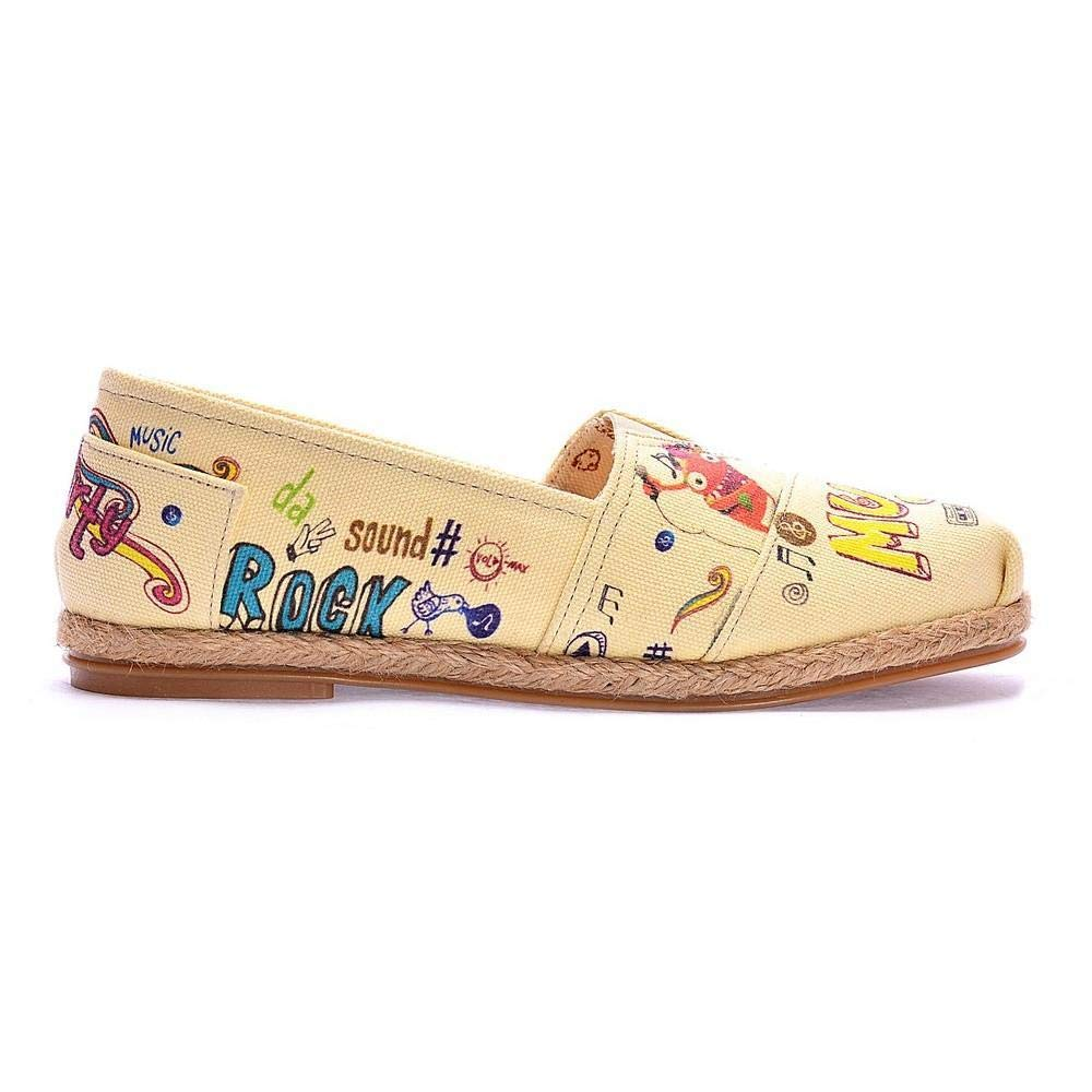 Goby Music Ballerinas Shoes COC6004