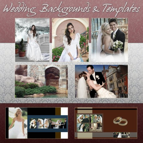 Digital Photography WEDDING PSD TEMPLATES Backgrounds Backdrops